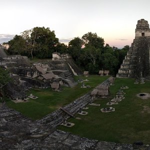View from Temple II